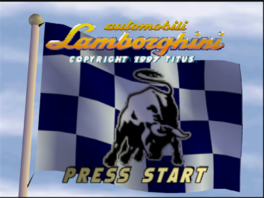Automobili Lamborghini - Screenshot - Game Title
