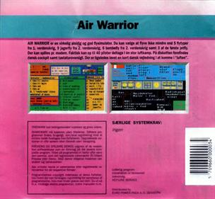 Air Warrior - Box - Back