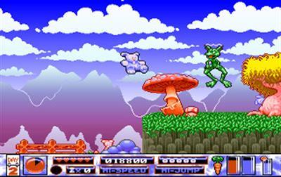 Quik the Thunder Rabbit - Screenshot - Gameplay