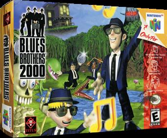 Blues Brothers 2000 - Box - 3D