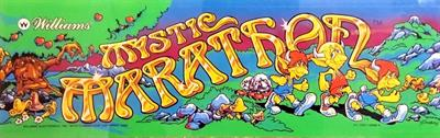 Mystic Marathon - Arcade - Marquee