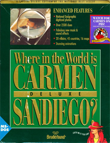 Where in the World Is Carmen Sandiego? Deluxe Edition