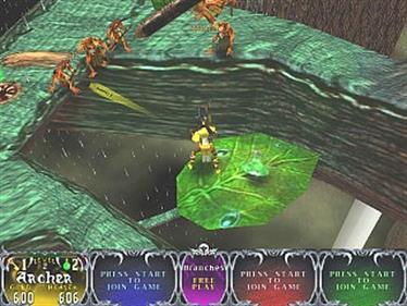 Gauntlet Legends - Screenshot - Gameplay