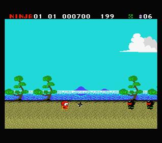 Ninja-kun: Asura no Shou - Screenshot - Gameplay