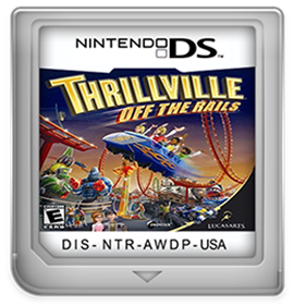 Thrillville: Off the Rails - Cart - Front
