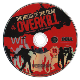 The House of the Dead: Overkill - Disc