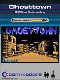 GhostTown - Fanart - Box - Front
