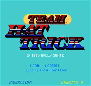 Team Hat Trick - Screenshot - Game Title