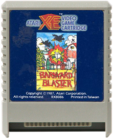 Barnyard Blaster - Cart - Front