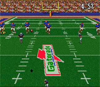 ABC Monday Night Football - Screenshot - Gameplay
