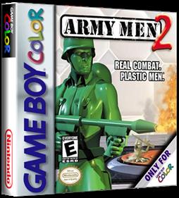 Army Men 2 - Box - 3D