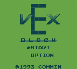 Vex - Screenshot - Game Title