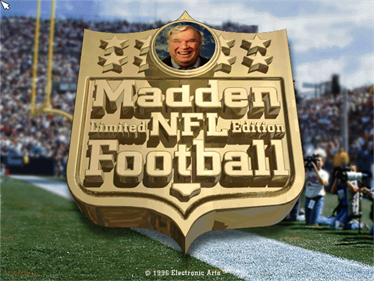 Madden NFL Football: Limited Edition  - Screenshot - Game Title