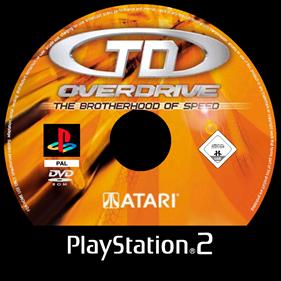 TD Overdrive: The Brotherhood of Speed - Fanart - Disc