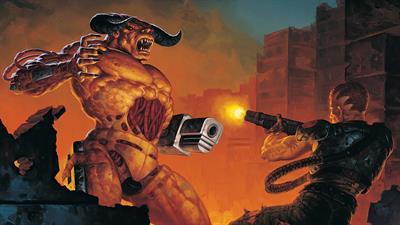 DOOM II: Hell on Earth - Fanart - Background