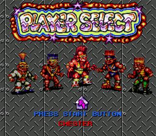 Stone Protectors - Screenshot - Game Select