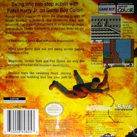 Pitfall: Beyond the Jungle - Box - Back