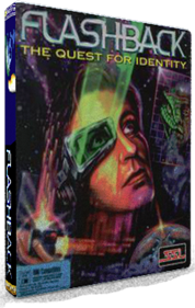 Flashback: The Quest for Identity - Box - 3D