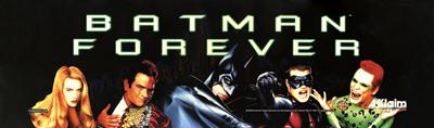 Batman Forever - Arcade - Marquee
