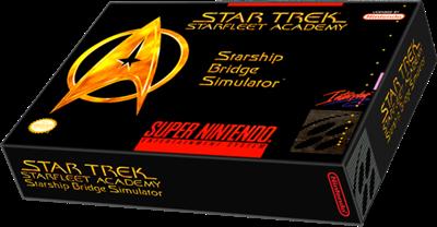 Star Trek: Starfleet Academy - Starship Bridge Simulator - Box - 3D