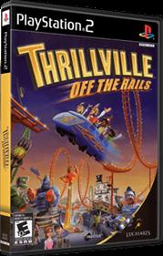 Thrillville: Off the Rails - Box - 3D