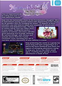 Final Fantasy Crystal Chronicles: My Life as a Dark Lord - Box - Back