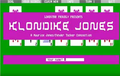 Klondike Jones - Screenshot - Game Title