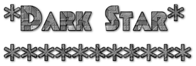 Dark Star - Clear Logo