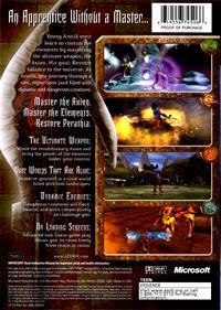 Azurik: Rise of Perathia - Box - Back