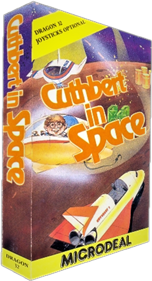 Cuthbert in Space - Box - 3D