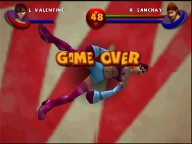 Ready 2 Rumble Boxing: Round 2 - Screenshot - Game Over