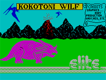 Kokotoni Wilf - Screenshot - Game Title