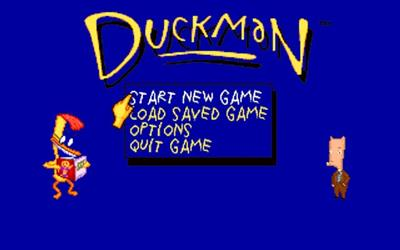Duckman: The Graphic Adventures of a Private Dick - Screenshot - Game Title