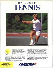 On Court Tennis
