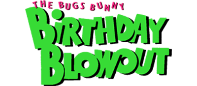 The Bugs Bunny Birthday Blowout - Clear Logo