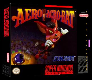 Aero the Acro-Bat - Box - 3D