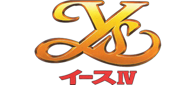 Ys IV: Mask of the Sun - Clear Logo
