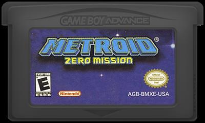 Metroid: Zero Mission - Cart - Front