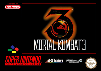 Mortal Kombat 3 - Box - Front