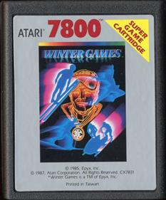 Winter Games - Cart - Front