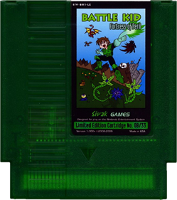 Battle Kid: Fortress of Peril - Cart - Front
