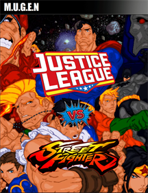 Justice League vs Street Fighter