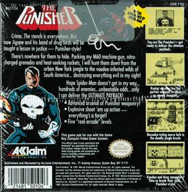The Punisher: The Ultimate Payback - Box - Back