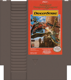 Advanced Dungeons & Dragons: DragonStrike - Cart - Front