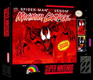 Spider-Man Venom: Maximum Carnage - Box - 3D