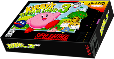 Kirby's Dream Land 3 - Box - 3D