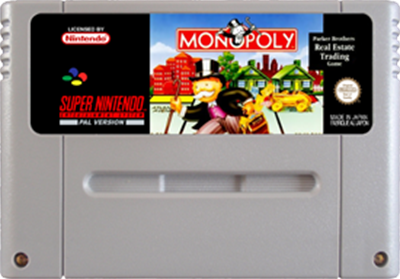 Monopoly - Fanart - Cart - Front