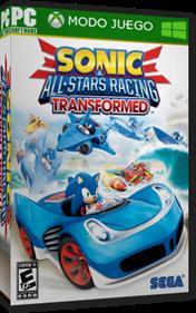 Sonic & All-Stars Racing Transformed - Box - 3D