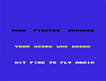 ACE: Air Combat Emulator - Screenshot - Game Over