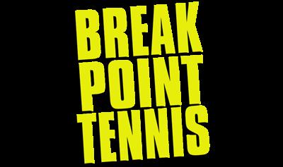 Break Point Tennis - Clear Logo